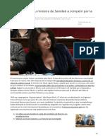 Macron lanza a su ministra de Sanidad a competir por la alcaldía de París