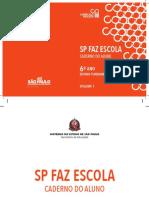 Caderno Do Aluno - 6 Vol1 - 2020
