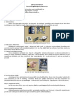 Information Sheet 1 (CSS assembling computer hardware)