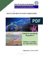 Manual de Práctica Bioquímica I