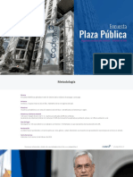 Encuesta Cadem Sebastián Piñera