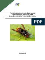 protocolo velutina cantabria abril 2018