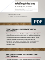 Journal Perioperative management Fluid Therapy