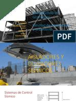 AISLADORES Y DISIPADORES SISMICOS EN EDIFICACIONES Y PUENTES