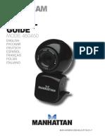 User's guide camera web Manhattan-460460 (Multilaguge)