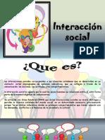 notas interaccion social