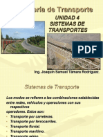 SISTEMAS DE  DE TRANSPORTES