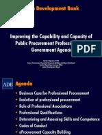 ADB-SC Professional Public Procurement