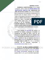 SENTENCIA DE AMPARO INDIRECTO VS. DERECHO DE PETICION  Y LA ADMON. DE LA JUSTICIA PRONTA..PDF