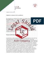 1 - Encargo - Carta Auditores