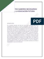 LOS SIETE SABERES PARA LA EDUCACION FUTURA.docx