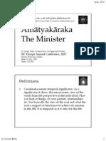 Amatyakraka