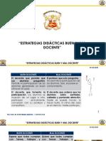 m3 - A 1.3 - Estrategias Didacticas Buen y Mal Docente