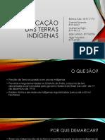 Demarcação das Terras Indígenas (Camila pimenta).pptx