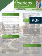Hoja Dominical-VI Domingo del Tiempo Ordinario
