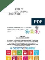 Movilidad Urbana Antigua Guatemala