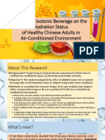 ppt isotonic beverages