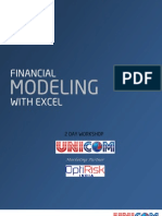 Financial Modeling Excel Workshop