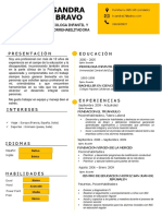 Curriculum Sandra Bravo