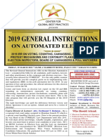 Flyer - 2019 General Instructions                                           on Automated Election - ERD