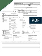 Formato de atencion de urgencias  -  Atencion medica urgencias
