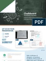 Chalkboard Ppt-creative