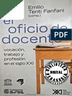 EL OFICIO DE DOCENTE. VOCACIÓN, TRABAJO Y PROFESIÓN EN EL SIGLO XXI.pdf