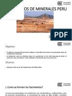 05.YACIMIENTOS MINERALES PERU - M. E. R.  PRESENTACION.pptx
