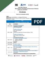 Programa  Chiclayo - JU