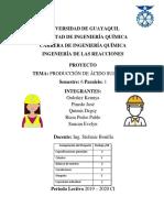 ING. DE LAS REACCIONES PROYECTO FINAL
