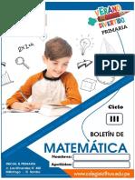 cuadernillo de matemática para el tercer y cuarto grado de primaria
