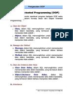 OOP Part-1 Pengenalan Object Oriented Programming dengan Java