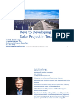 Keys to Developing a Solar Project in Texas 02.03.2020