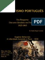 Literatura Portuguesa III Romantismo Português Eslaide
