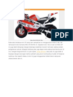 5. Motor Mini GP ION M1 49 cc