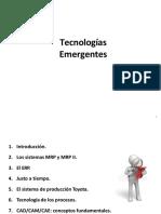 TECNOLOGIA EMERGENTES