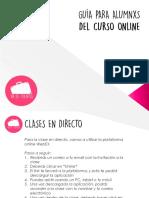 guia curso online 2 horas sin foro VDC