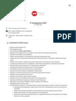 IT Development Staff Pekerjaan - PT ADR Agro - 3145015 _ JobStreet _ JobStreet