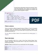 Python is a high