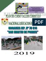 PLAN DE CAPACITACION EDUCACION FISICA