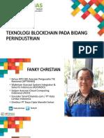 APTIKNAS - Teknologi Blockchain di Bidang Perindustrian