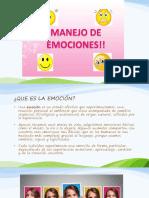 MANEJO DE LAS EMOCIONES 1