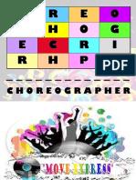 choReograpHer - lessOn pLan