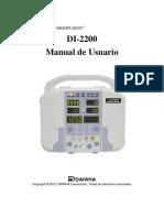 Bomba de Infusión-DI-2200-Manual de Uso- Versión 1- Mar-17