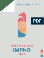 Guideline IMPhO 2020