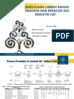 Limbah B3 Industri Cat