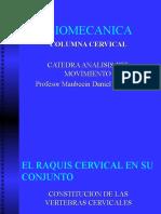 Biomecanica Columna Cervical