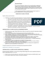 Criterios para la Clasificación de Granulomatosis de Wegener