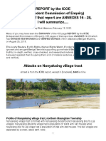 ICOE-Nanyakaing Attacks, Summarized
