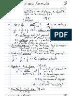 Universe Formulas